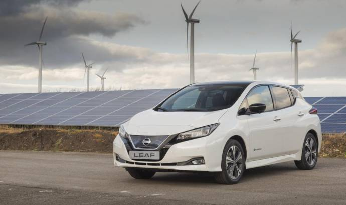 Nissan Leaf production started in UK