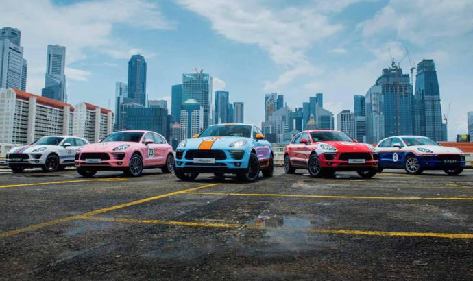 Porsche Macan got special livery in Singapore