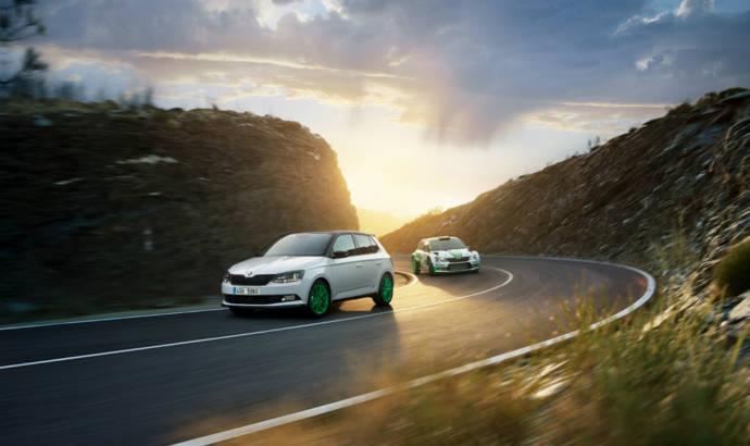 Skoda revealed a Fabia inspired by the WRC 2 car
