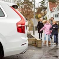 Swedish families help Volvo develop autonomous cars