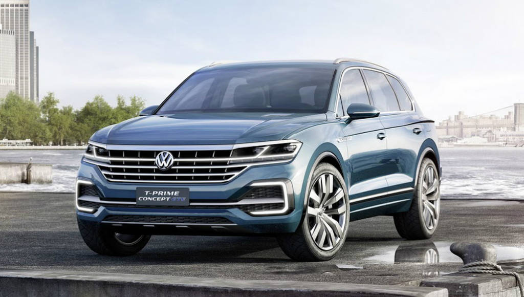 The next generation Volkswagen Touareg will come in April 2018