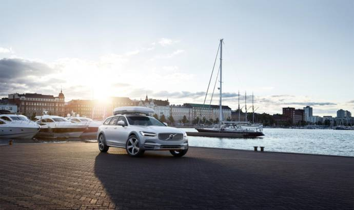 Volvo V90 Cross Country Volvo Ocean Race introduced in US