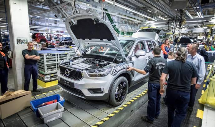 Volvo XC40 production starts in Belgium