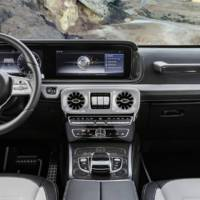 2018 Mercedes-Benz G-Class - first interior pictures