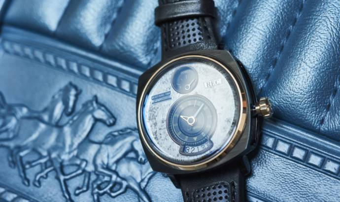 Christmas present for petrolheads: a watch made from old Mustang parts