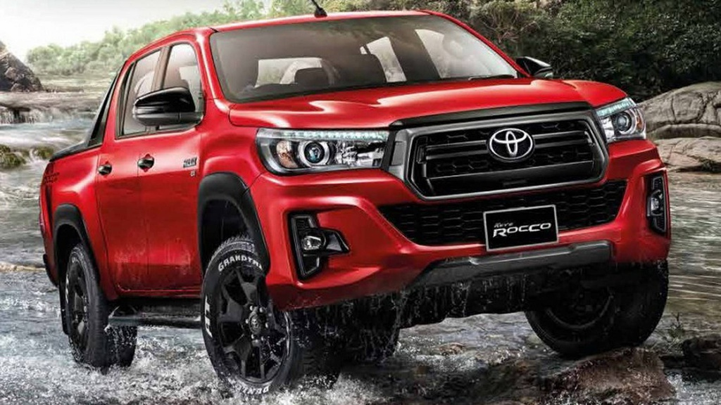 2018 Toyota Hilux is available in a new top-spec version