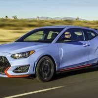 2019 Hyundai Veloster N has 275 horsepower