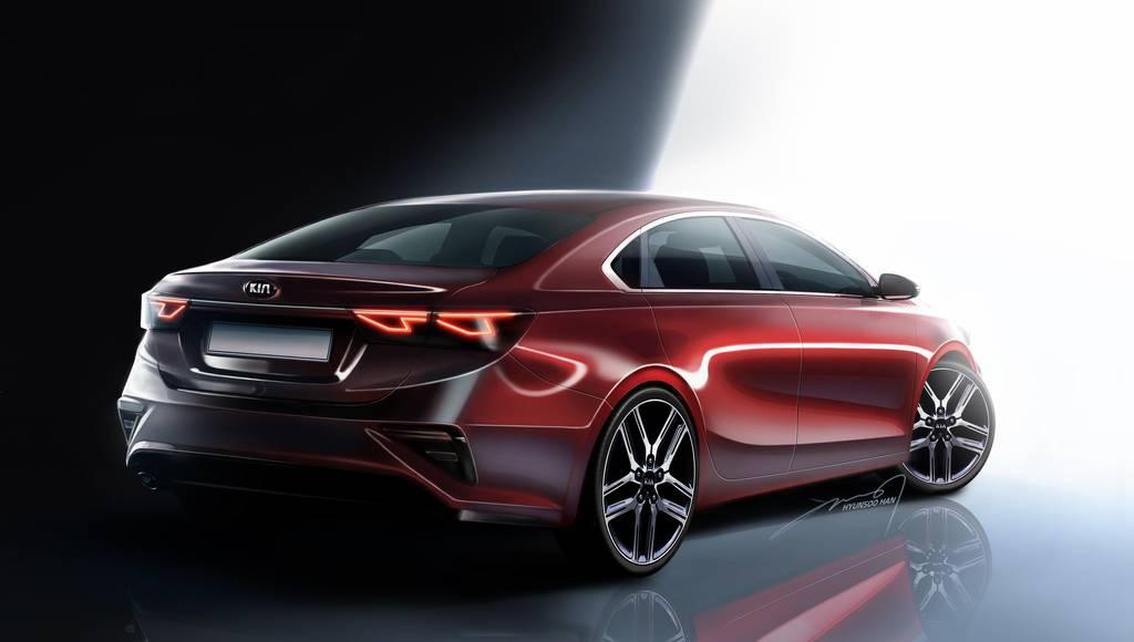 2019 Kia Forte sketches revealed