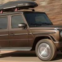 2019 Mercedes-Benz G-Class - leaked exterior pictures