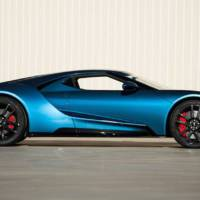 A 2017 Ford GT was sold for 2.5 million at auction
