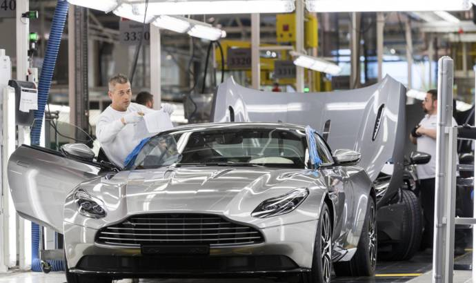 Aston Martin reached record sales in 2017