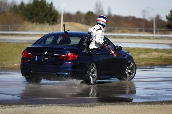 BMW sets two Guinness World Records for drifting. The new M5 was the king