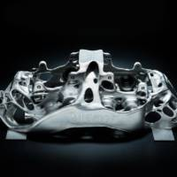 Bugatti Chiron brakes made with a 3D printer