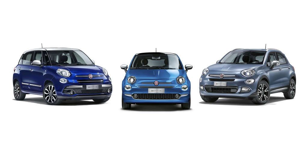 Fiat 500 Mirror family launched in UK
