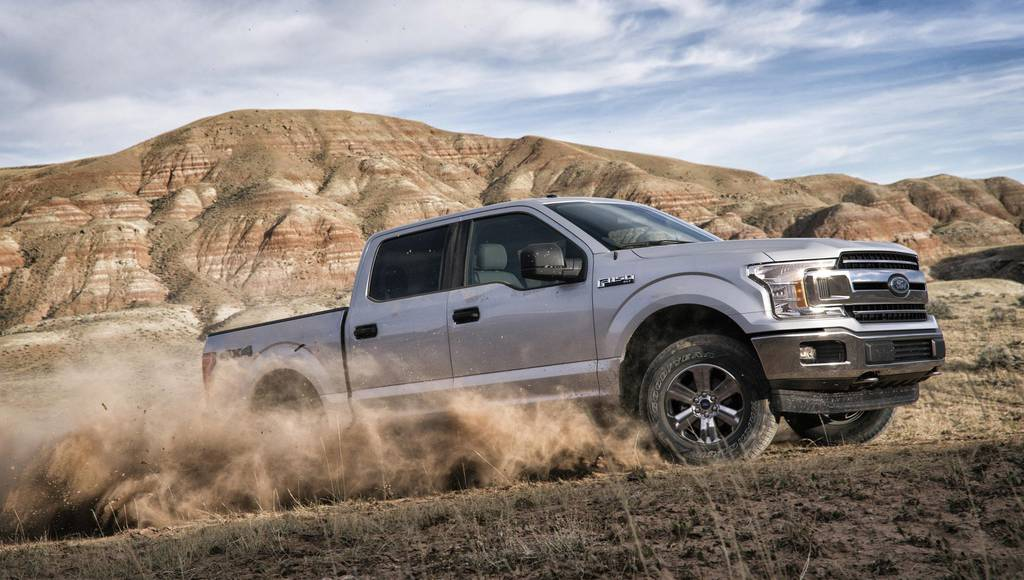 Ford F-150 is Americas military favorite