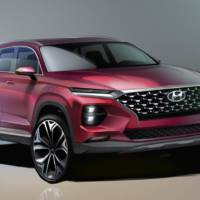 Hyundai Santa Fe sketches revealed