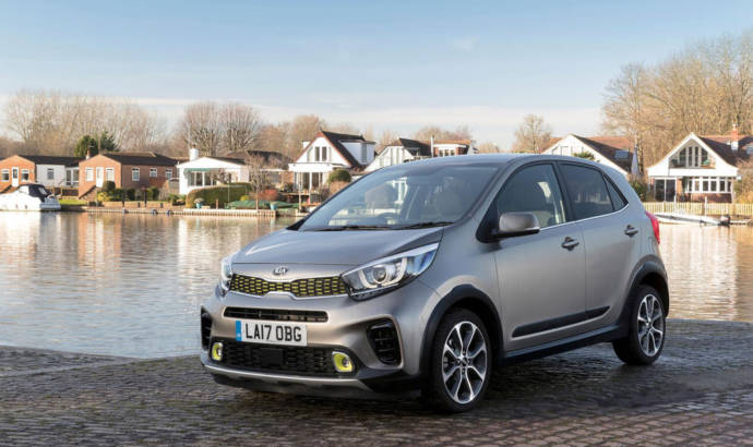 Kia Picanto X-Line available in the UK