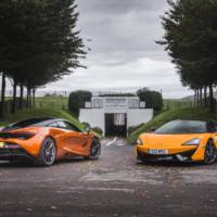 McLaren sales reached recor dnumbers in 2017