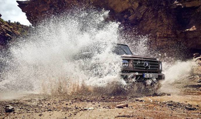 Mercedes-Benz G-Class - the last teaser before the official debut
