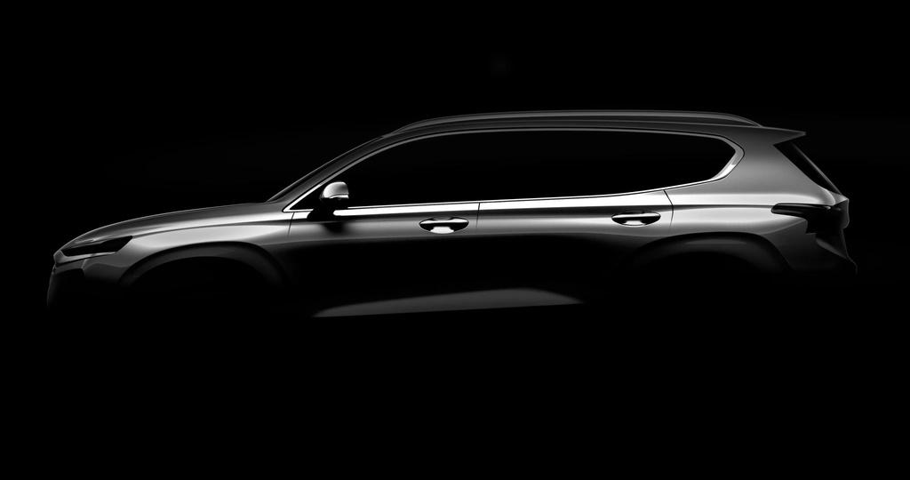 New generation Hyundai Santa Fe teased