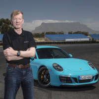 Porsche celebrates 25 years of partnership with Walter Rohrl