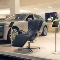 Rolls Royce showroom showcases the Elysium R chair