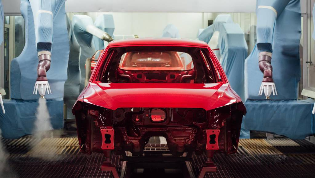 Seat uses 84 robots and 5000 litre of paint for its new models