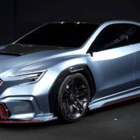 Subaru Viziv Performance STI Concept previews an upcoming WRX STI model
