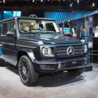 The new 2019 Mercedes-Benz G-Class is available with optional Night Package