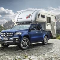 The new Mercedes-Benz X-Class dressed as a camper van