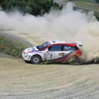 This Ford Focus WRC was driven by Colin McRae and now is for sale