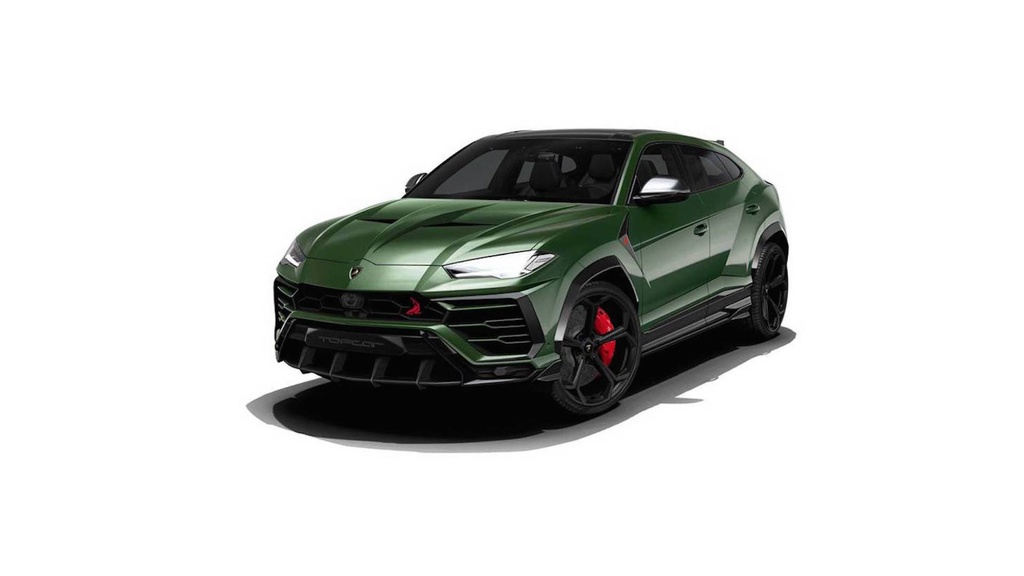TopCar is the first tuning firm to tackle the Lamborghini Urus