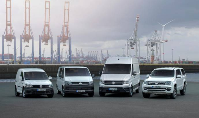 Volkswagen Commercial Vehicles, record sales in 2017