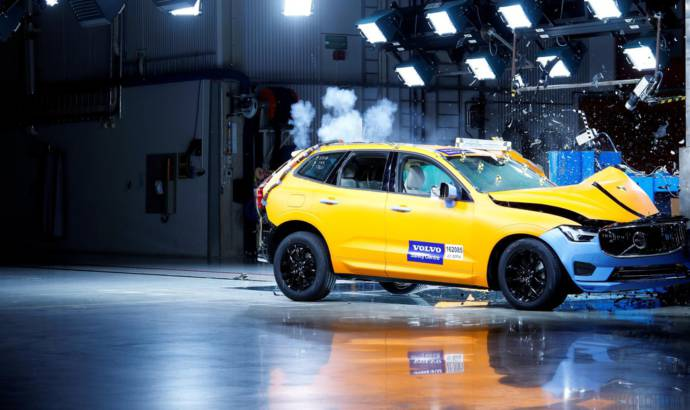 Volvo XC60 is the safest car for EuroNCAP in 2017