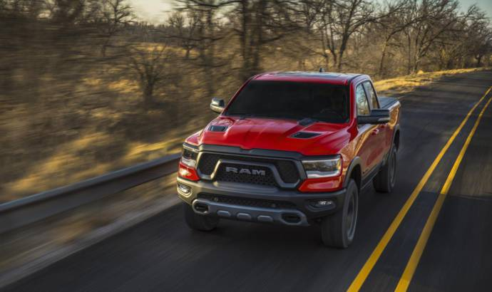 2019 RAM 1500 launched in Detroit
