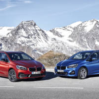 BMW unveiled the revised BMW 2 Series Active Tourer and BMW 2 Series Gran Tourer