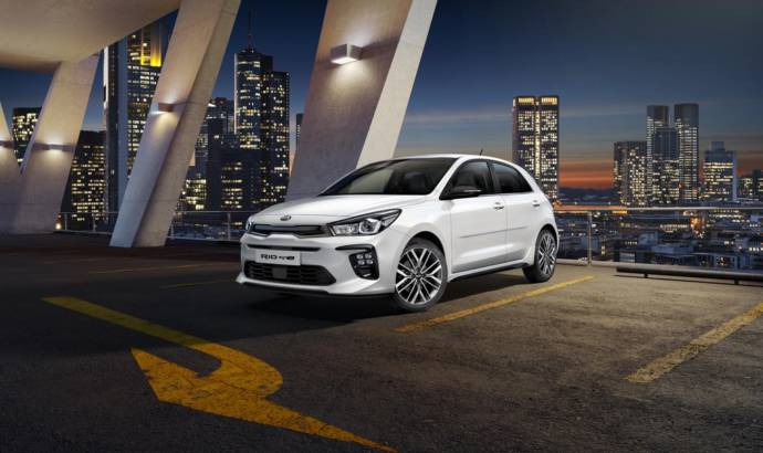 Kia Rio GT-Line first images revealed