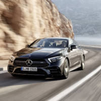 This is the new Mercedes-AMG 53 series - it has a mild-hybrid powertrain and an electric compressor