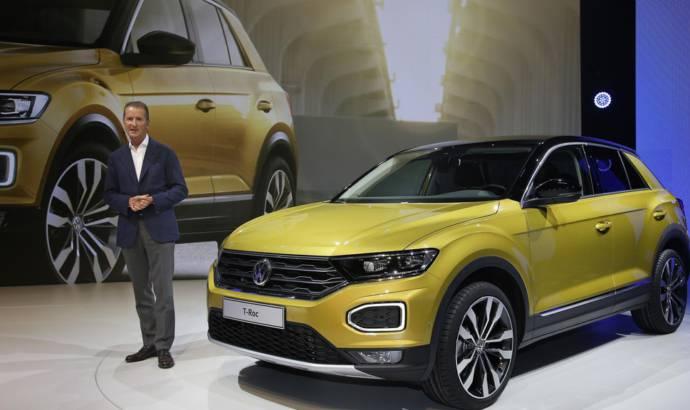 100 million USD to develop a Volkswagen T-Roc Cabrio