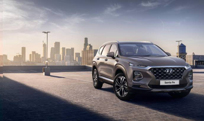 2018 Hyundai Santa Fe first official images