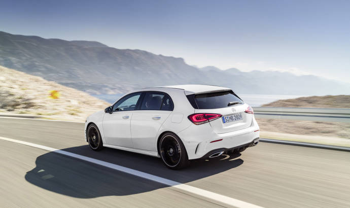 2018 Mercedes-Benz A-Class - official pictures and details