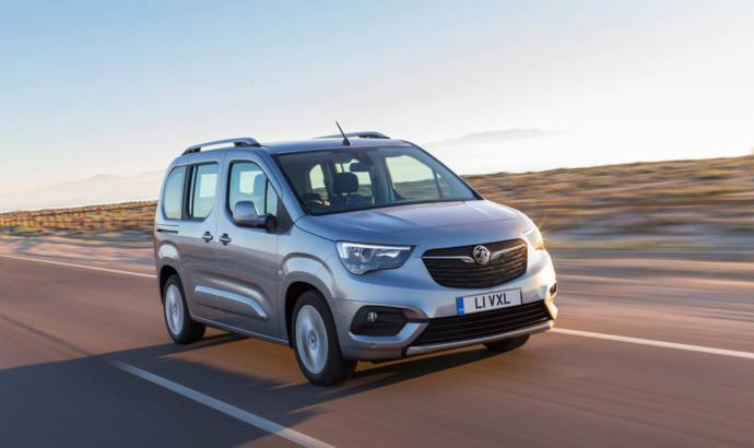 2018 Vauxhall Combo Life unveiled