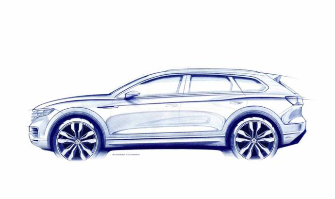 2018 Volkswagen Touareg to be revealed in China
