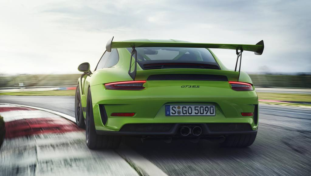 2019 Porsche 911 GT3 RS launched in the US