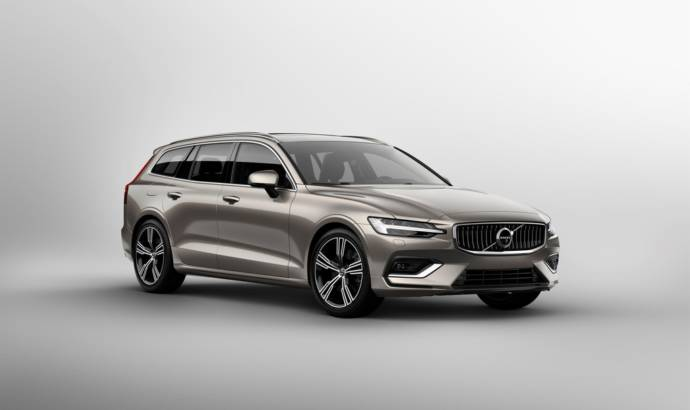 2019 Volvo V60 officially unveiled