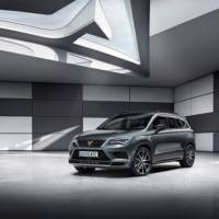 First picture of the new Cupra Ateca