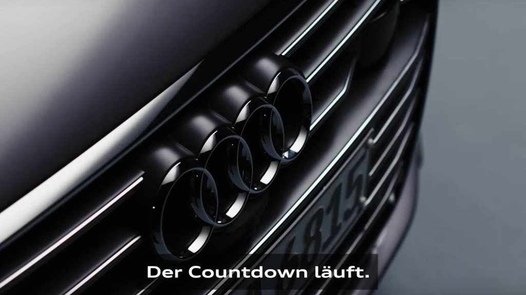 First video teaser of the upcoming Audi A6