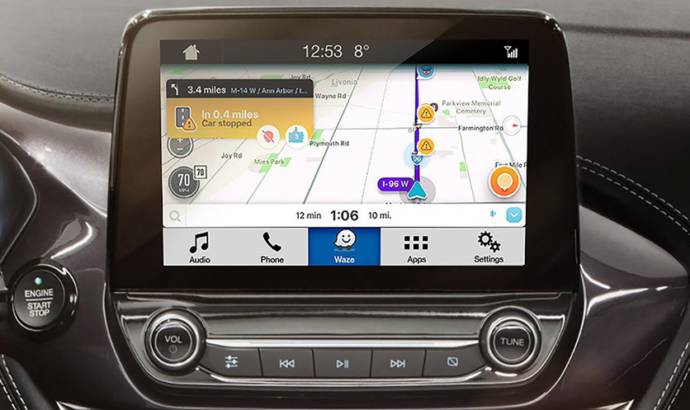 Ford introduces Waze on its cars