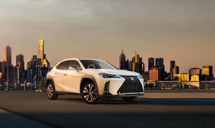 Lexus UX crossover first image revealed