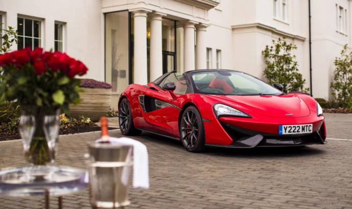 McLaren 570S commissioned for Valentines Day
